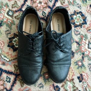 ☀️3 for $20 black Oxford shoes